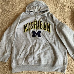 University of Michigan Hooded Sweatshirt
